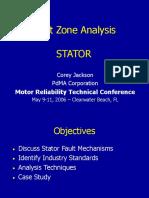 Stator Fault Zone