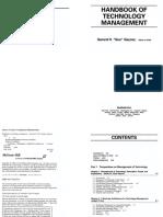 Handbook of Technology Management - Gaynor