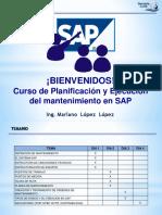 Curso PM SAP 2016