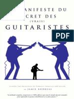 Le Manifeste Du Secret Des Vrais Guitaristes v2013