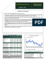 TD BANK-AUG-06-The Weekly Bottom Line