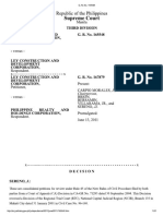 Supreme Court Decision G. R. No. 165548