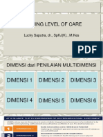 Defining Level of Care