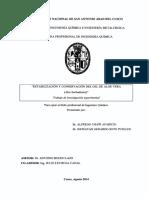 Estabilización y Conservación Del Gel de Aloe Vera