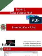 Sesion 1. Introducción a Scilab