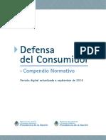 Defensa Consumidor Compendio Normativo
