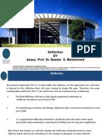 Deflection EC2