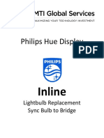 Philips Inline - Light Replacement & Sync