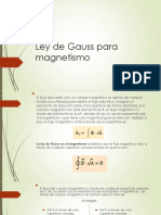 Ley de Gauss Para Magnetismo