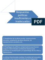 SociologiaRespuestas politicas insuficientes.ppt
