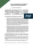 José Chiaramonte - La Cuestión de La Soberanía en La Génesis y Constitución Del Estado Argentino