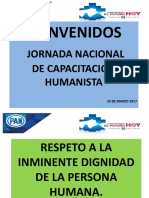 Jornada Nacional de Formacion Humanista