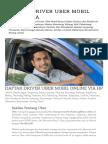 Daftar Driver Uber Mobil Indonesia _ Panduan Mudah Pendaftaran Online