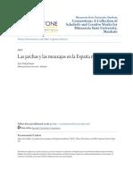 Las Jarchas y Las Moaxajas en La España Musulmana