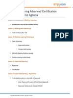 Machine Learning Syllabus PDF
