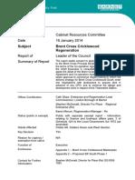 2014-01 Brent Cross Cricklewood Regeneration - Public Report