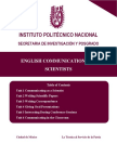 IPN English Communication for Scientists.