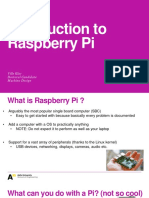 Introduction to Raspberry Pi Mechatronics Projects
