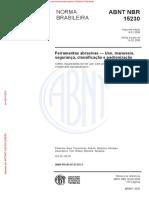 NBR 15230 Rebolos