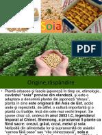 Tehnologia de Cultivare a Soiei