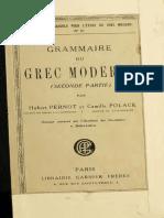 Grammaire du grec moderne_T. 2_Hubert Pernot.pdf