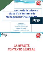 La Démarche de La Mise Enplace D_un Système de Management Qualité ISO 9001 2015