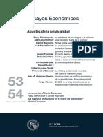 Canavese- Hipótesis Estructural en La Teoria de La Inflación