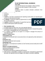 Elements of International Business