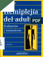 Hemiplejía del adulto evaluación y tratamiento Libro