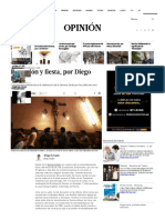 Procesión y Fiesta, Por Diego Lévano _ Colaboradores _ Opinión _ El Comercio Peru