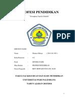 Hakekat Organisasi Profesi Keguruan