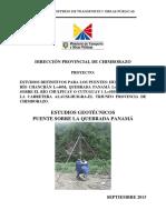 Informe Tecnico Puente Panama