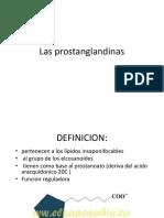 Prostaglandinas, Terpenos y Fosfolipidos