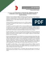 EL FRENTE AMPLIO RECHAZA LA INTENCIÓN DEL GOBIERNO DE PPK DE FAVORECER AL GRAN CAPITAL CHILENO PISOTEANDO MANDATO CONSTITUCIONAL