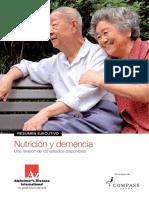 Nutrition Dementia Summary Esp
