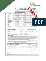 DDA Form Filling-In Guidelines