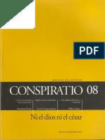 Conspiratio 08 Cartas Desde El Dolor, E. Mounier - Escamilla