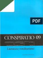 Conspiratio 09 Nazarín, B. Pérez Galdós -Escamilla