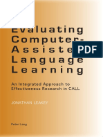 Leakey - Evaluating Computer-Assisted Language Learning