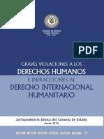 Graves VIOLACIONES a Los Derechos Humanos e Infracciones al DIH