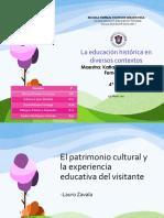 EL PATRIMONIO CULTURAL Y LA EXPERIENCIA ....