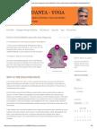What is Nadi Pariksha (Ayurvedic Pulse Diagnosis) _ Ayur-Vedanta-yoga by Nadi Vaidya Ravishankar Krishnamurthy