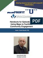 """Handouts for Nonprofit """"U"""" Episode 71"""