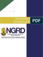 Pro-1601-Gth-03 Programa de Manejo de Sustancias Peligrosas