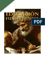 Trabajo Resumen Sobre Educación Fundamental Lección 11