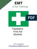 2016 Paedatric First Aid