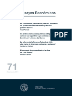 ensayos economicos