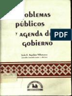 Aguilar Villanueva - PROBLEMAS PUBLICOS Y AGENDA DE GOBIERNO.pdf