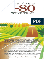Iowa Wineries and Wine Tasting Brochure