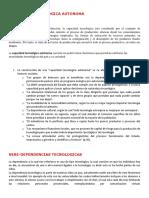 CAPACIDAD TECNOLOGICA AUTONOMA